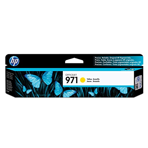HP 971 Yellow Ink Cartridge (CN624AM) for HP Officejet Pro X451 X476 X551 X576