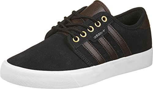 adidas SEELEY - Zapatillas deportivas para Hombre, Negro - (NEGBAS/MAROSC/FTWBLA) 49 1/3