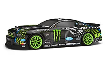 HPI Racing 111664 E10 2013 Mustang Drift Monster Energy RC Car