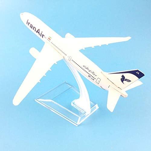 航空機モデル16 cmイランエアバス330航空機モデル1:400ダイキャスト金属航空機