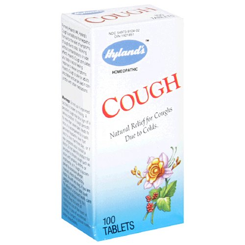 Hyland's Cough, 100 Tablets (Pack of 3)