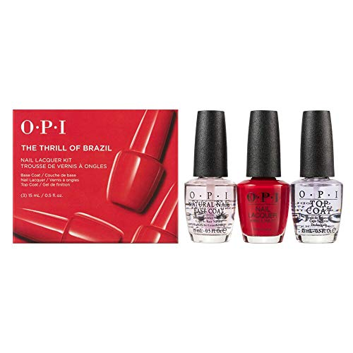 OPI Nail Lacquer Trio Pack, The Thrill of Brazil, 1.5 fl. oz.