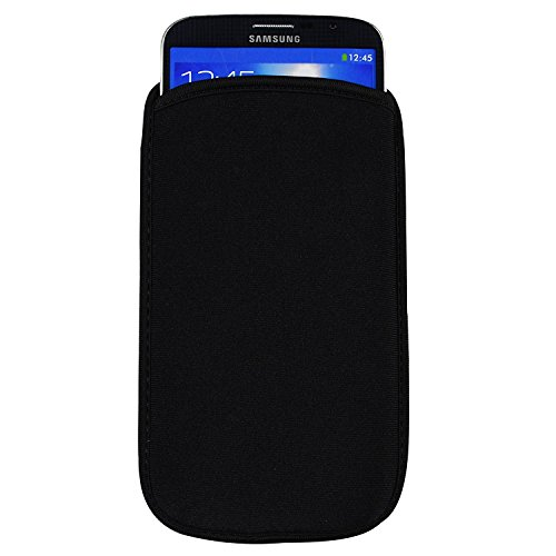 6.3 in Universal Neoprene Shock proof Pouch Sleeve Case for Samsung Galaxy Note 8 / S8 Active / Huawei Mate 9 / ZTE Blade X Max / XL / Max 3 / Axon 7 Max / Alcatel Pop 4 XL / BLU Studio Mega / XL 2