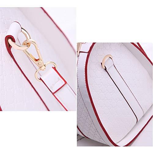 Gelaiken Laptops Bags Fashion Handbag, Ladies Leisure Single Shoulder Oblique Span Package, Size 31.5cmx18cmx23cm Padded Computer Bag Large Briefcase for Work by Gelaiken (Image #6)