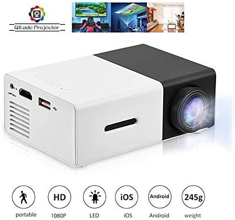1080P Projector 320x240 Pixels, Support USB/HDMI/AV SD Compa