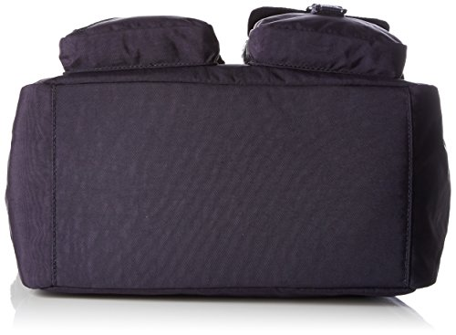 Kipling Damen Defea Schultertaschen, 33x25x19 cm Violett (Blue Purple C)