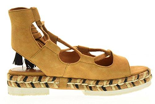MIA Cuoio espadrillas APEPAZZA donna scarpe CUOIO SUEDE MRA02 wWBwpXUTq