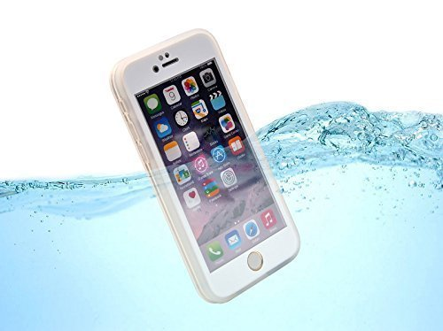 Beyda 2017 NEW Waterproof Cell Phone Carrying Cases for Iphone6/6s.touch to Answer the Phone or Take Photos Under Water, Dustproof, Drop Proof, Outdoor Best Partner (White-iphone6/6s)