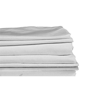 Francois et Mimi 1000 Thread Count 100% Egyptian Cotton Luxury Deep Pocket Sheet Set (King, Gray)
