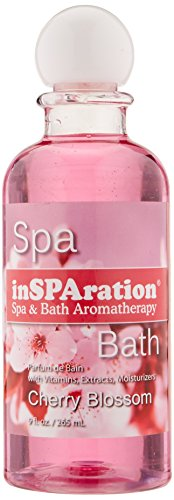 inSPAration Spa and Bath Aromatherapy 112X Spa Liquid, 9-Ounce, Cherry Blossom