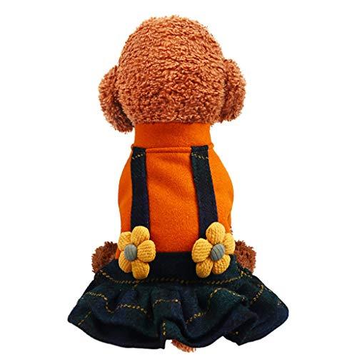 TOPBIGGER Puppy Dog Dress, Puppy Tutu Dress