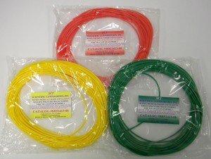 Medical Grade Colored Polyurethane Tubing - Natural/.187