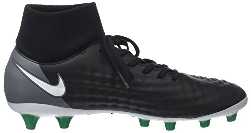 Nike Magista Onda II DF AG-PRO, Scarpe da Calcio Uomo Nero (Black/White-dark Grey-stadium Green)