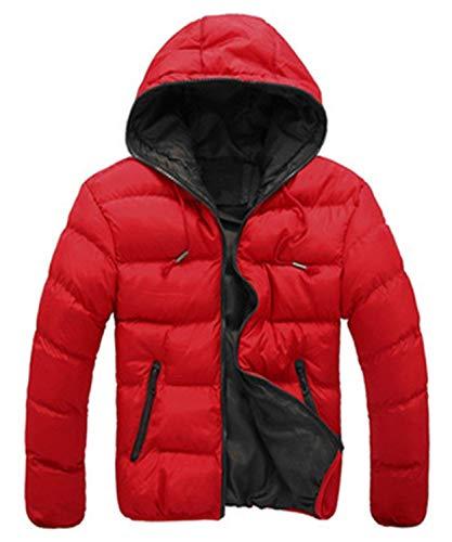 Con Abbigliamento Sportiva Degli Cotone Di Tuta Cappuccio Di Modo Hx Cappotto Rot Uomini Comode Giù Dimensioni Del Parka Rivestimento Invernale Cappotto EFaqww