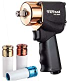 TZTOOL 1000 Turbo 1/2″ compact impact wrench MAX 625 FT/LBS Review