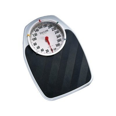 EASY-TO-READ 7'' DIAL SCALE (Catalog Category: ELECTRONICS-OTHER / HOME & HEALTH ACCESSORIES) by taylor