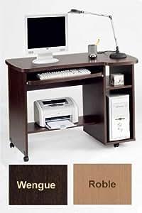 Mesa para ordenador color wengu hogar for Mesa ordenador amazon