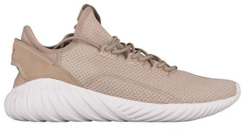 8638dd8097a0 adidas Originals Men's Tubular Doom Sock PK Running Shoe, Trace  Khaki/Crystal White, 8 Medium US