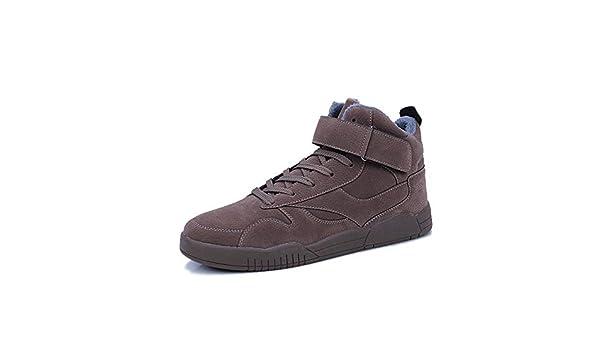 Amazon.com: Lessonmart Men Boots Winter with Fur Warm Snow Boots Men Winter Boots Work Shoes Men Footwear Fashion Rubber Ankle Shoes Size7-9.5: Kitchen & ...