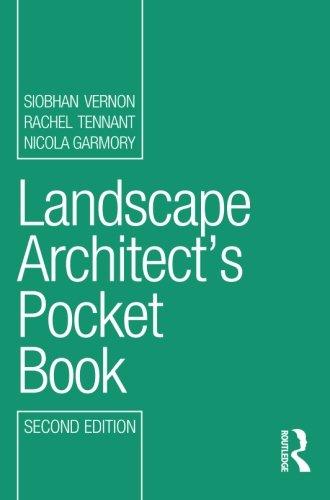 Architect Pocket - Landscape Architect's Pocket Book (Routledge Pocket Books)