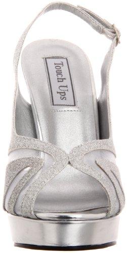 Silver Ups Platform Touch Women's Glitter Virginia AP88anx