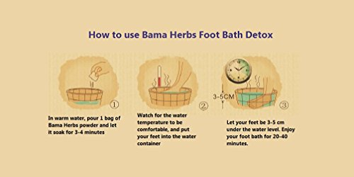 temperament shoes outlet for sale superior quality Authentic Aofulai Bama Herbs Foot Bath Health Detox Cleanse ...