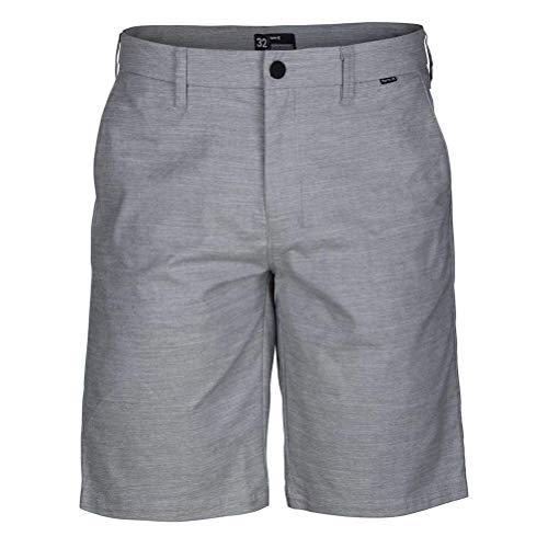 Hurley T-shirt Shorts - Hurley Men's Dri-Fit Breathe Walkshorts Wolf Grey 34W x 21L