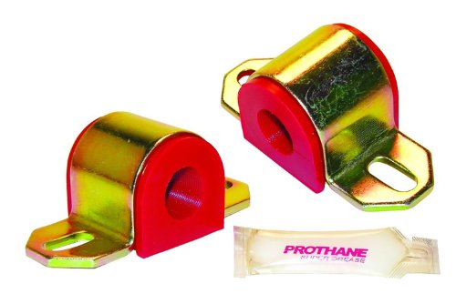 Prothane 19-1121 Red 22 mm Universal Sway Bar Bushing fits A Style Bracket ()