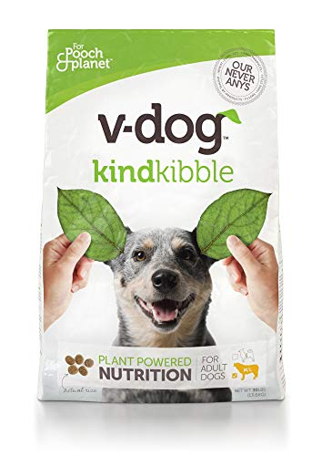 V-Dog Vegan Kibble Dry Dog Food, 30 lb -