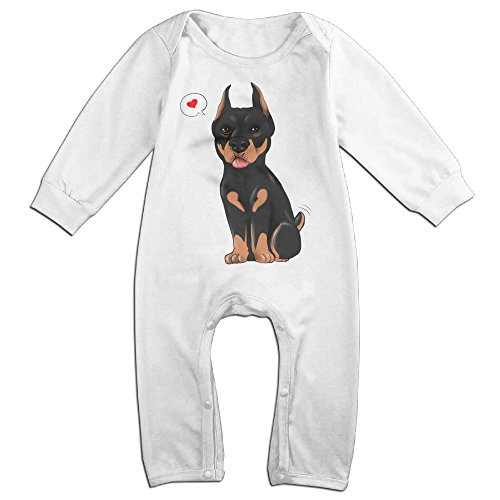 Infant Baby's Doberman Long Sleeve Romper Jumpsuit 24 Months (Max Hall Costume)