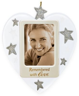 Remembered With Love Photo Holder 2009 Hallmark Ornament by Hallmark (Image #1)