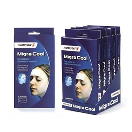 6 paquetes de Migra Cool, parches para las migrañas y dolores de cabeza