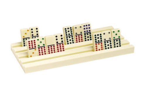 Jumbo Plastic Domino Trays -Set -Set -Set of Two by CHH 8efaf7