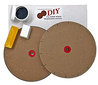 Amazon Com Paper Wheels Sharpening System 8 Wheels For