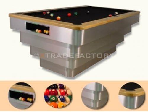 Diseño profesional mesa de billar STEP de elefante mesa de Billar Snooker juego profesional azules: Amazon.es: Hogar