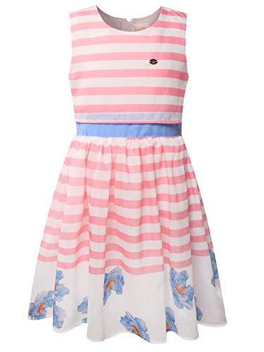 Bonny Billy Big Girls Easter Dress Casual Skater Clothing for Teens 7-16 Pink ()