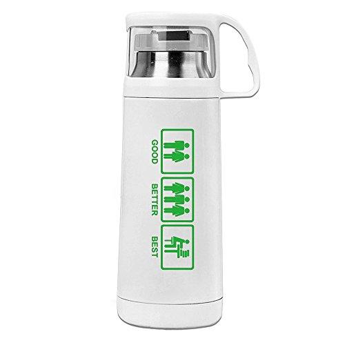 Good Better Best Study Convenient Vacuum Thermos Cups Unisex