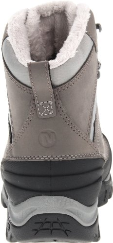Merrell Womens Snowbound Mi Imperméable Botte Dhiver Charbon De Bois