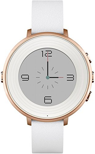 Pebble Time Round 14mm Smartwatch for Apple/Android Devices - Rose Gold by Pebble Technology Corp