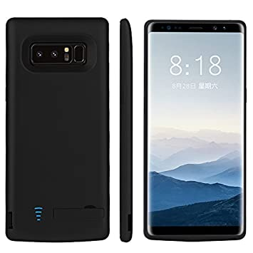 Funda Batería Samsung Galaxy Note 8 Battery Case 6500mAh Power Bank Carcasa Cargador Battery Recargable Externa Funda Ultra Fin Power Bank Battery ...