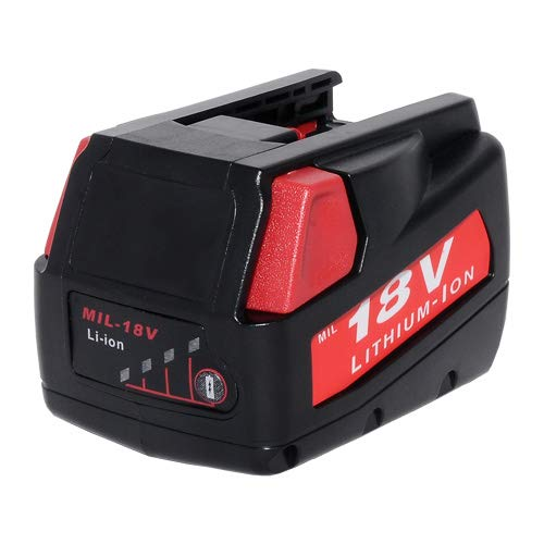 (18V 3.0Ah Replacement for MILWAUKEE MV18B V18 Power Tools Battery)