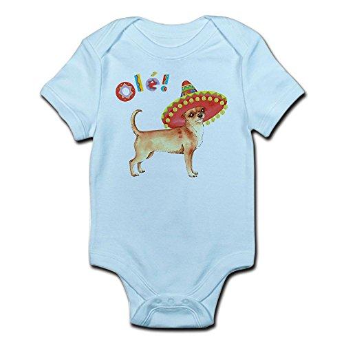 CafePress Fiesta Chihuahua - Cute Infant Bodysuit Baby Romper