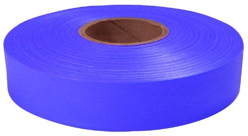 Empire Level 77-065 Flagging Tape, Blue, 600-Feet by 1-Inch
