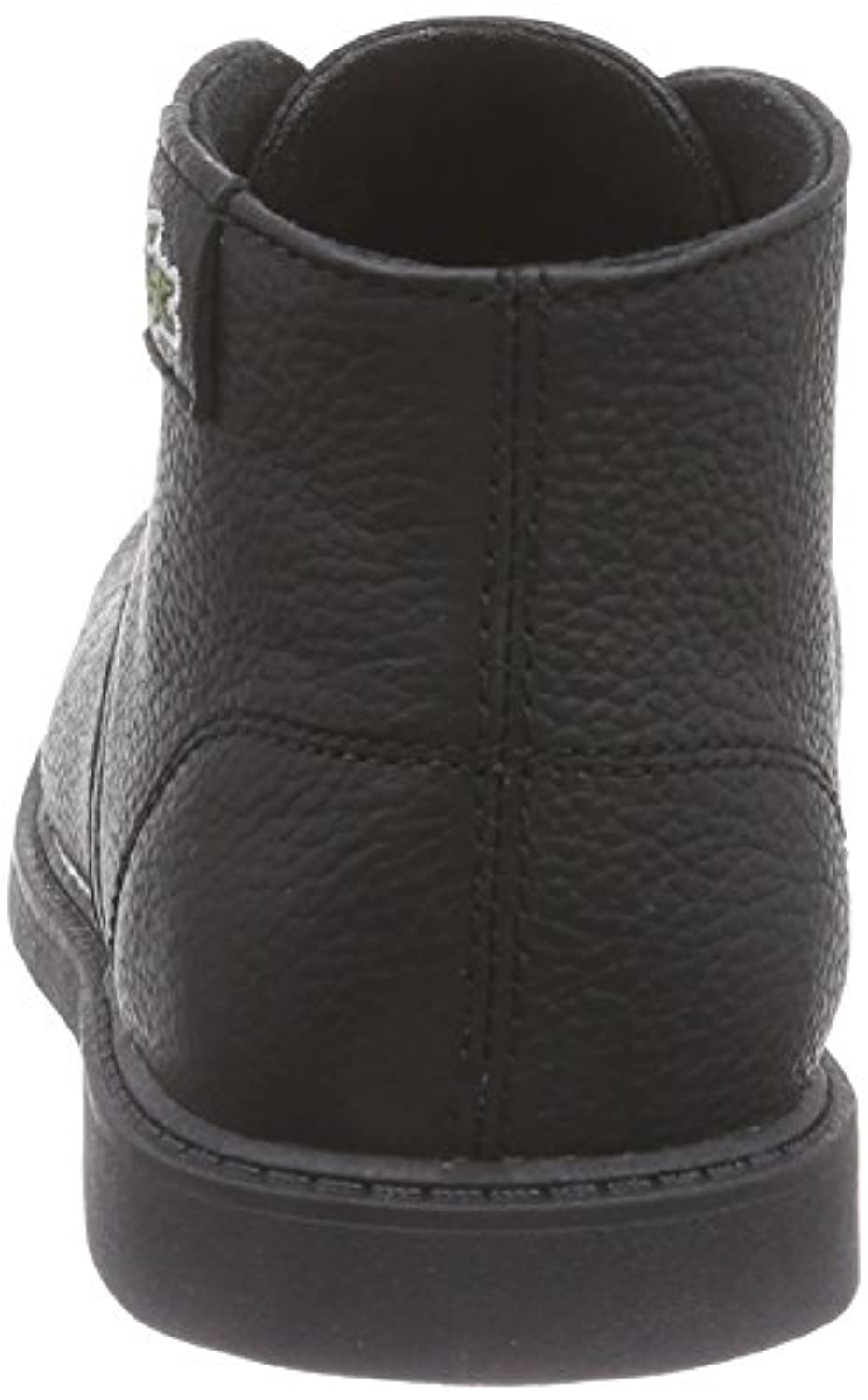 Lacoste Boys' SHERBROOK HI SB High-top Desert Boots Black Size: 1