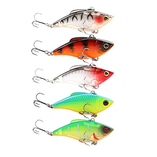 SeaKnight SK010 Fishing Lures 60mm 9.5g VIB Hard Baits With BKK Hook Artificial Bass Bait Wobblers Fishing Sinking Lures Bait