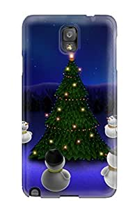 2233404K42641136 Waiting For The Xmas Awesome High Quality Galaxy Note 3 Case Skin