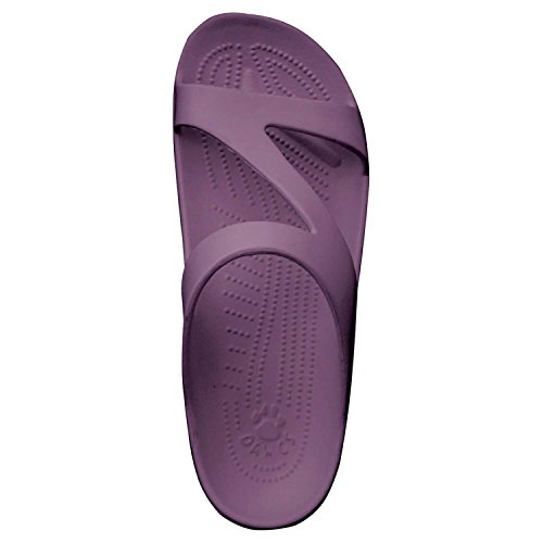Dawgs Womens Premium Z Sandals Plum/Lilac ZHI6Vy5JC