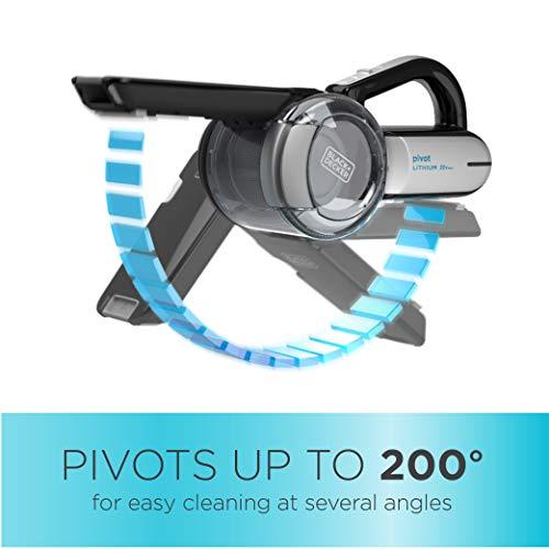 Black Decker Bdh2000pl >> Black Decker Bdh2000pl Max Lithium Pivot Vacuum 20 Volt