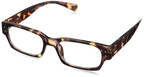 Peepers Men's Overdrive Tortoise Rectangular Reading - Mens Reading 2016 Glasses