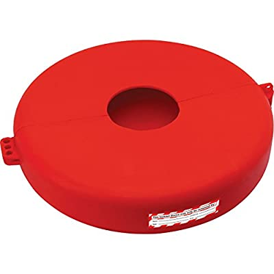"Lockout Safety Supply 7248 Gate Valve Lockout, 10"" - 13"" Wheel, Red from Lockout Safety Supply"